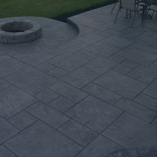 Stamped Concrete Contractors Rochester Ny Patio Sidewalk